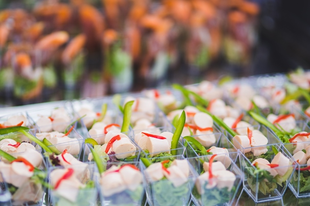 Food trends and tastes for gastronomical corporate functions
