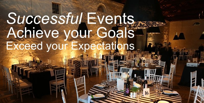 The Success Of An Event Or Function Lies In Preparation
