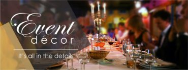 Event Décor – Bringing it all together