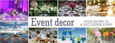 Event Decor your Secret to a Successful Event