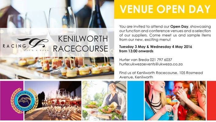 Venue open day at Kenilworth Racecourse