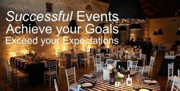 The success of an event or function lies in the preparation